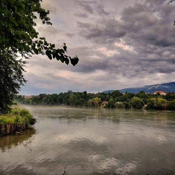 Meglica nad Dravo